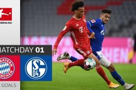 Munchen Menang 8–0 vs Schalke, Gnabry Hattrick, Jamal…