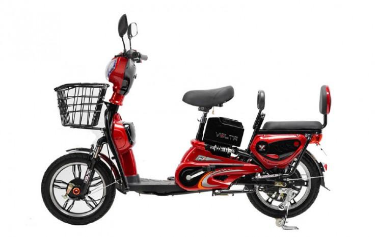 Sepeda Listrik Volta 202. Volta 202 memiliki kemampuan jarak tempuh 40 km dan kecepatan maksimal 40 km per jam.  - Volta Indonesia