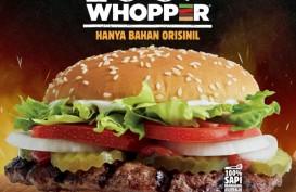 Burger King Indonesia Luncurkan Whopper Organik Tanpa Penyedap Rasa