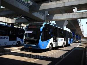 Transjakarta Sesuaikan Jam Operasional saat PSBB DKI Jilid II