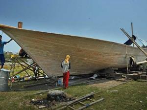 Produksi Perahu Tradisional di Banten Masih Diminati Nelayan