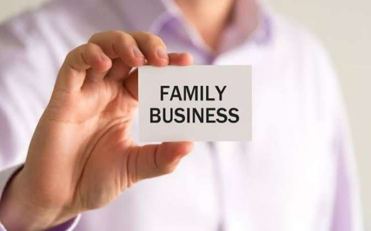 Ilustrasi bisnis keluarga