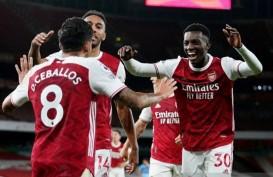 Hasil Liga Inggris : MU Disikat Palace di Old Trafford, Arsenal 3 Poin