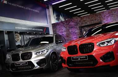 BMW X3 M dan BMW X4 M Competition Debut di Surabaya
