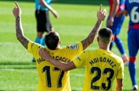 Hasil La Liga Spanyol, Villarreal Menang 2–1, Valencia…