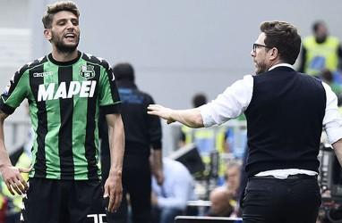 Di Francesco Akan Memeluk Berardi Saat Peluit Akhir Pertandingan