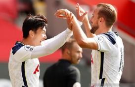 Spurs Hajar Southampton 5-2, Son Heung-min Cetak 4 Gol