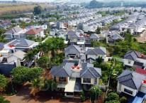 Ilustrasi kawasan perumahan./Bisnis/Triawanda Tirta Aditya