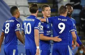 Hasil Liga Inggris : Menang Lagi, Leicester City Pimpin Klasemen