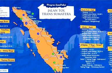 Tol Trans-Sumatra, Mampukah Hutama Karya Selesaikan Tepat Waktu?