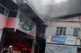 Pasar Wage Purwokerto Terbakar, 10 Mobil Damkar Dikerahkan