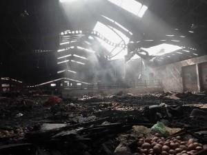 Kebakaran Pasar Wage Purwokerto, Kios di Lantai 1 dan 2 Ludes Terbakar