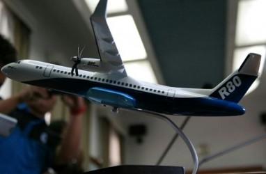 Dicoret dari Daftar PSN, Fase Pengembangan Pesawat R80 Bakal Molor