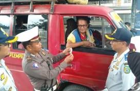 Sopir Angkot Langgar PSBB, Pemilik Dikenai Sanksi