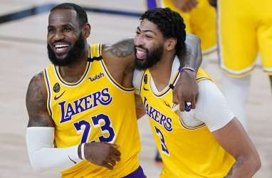 Hasil Final NBA Wilayah Barat: Lakers Menang Dramatis di Game Kedua