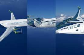 Airbus Ungkap Tiga Konsep Pesawat Komersial Niremisi