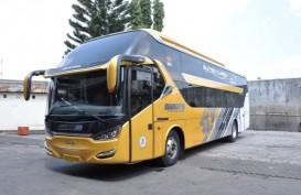 Cegah Covid-19, PO Handoyo dan Hino Luncurkan Bus Social Distancing
