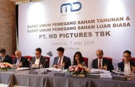 MD Pictures (FILM) Suntik Anak Usaha Rp7,5 Miliar untuk Produksi Film Series