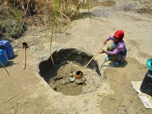 97 Desa Dari 14 Kecamatan di Kabupaten Grobogan Jawa Tengah Alami Kekeringan