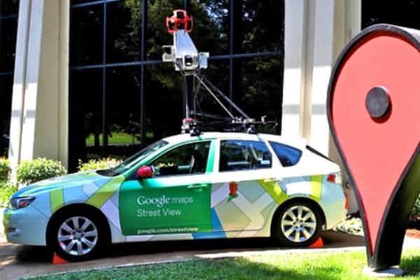 ILustrasi: Mobil perekam sistem pemetaan street view Google. - maps.google.co.id