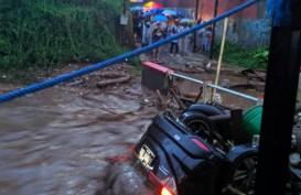 BNPB Sebut 12 Rumah Hanyut saat Banjir Bandang Cicurug, Sukabumi