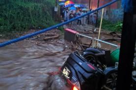 BNPB Sebut 12 Rumah Hanyut saat Banjir Bandang Cicurug,…