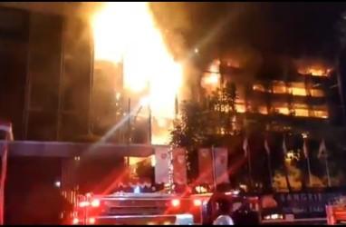 Dugaan Kesengajaan Kebakaran Gedung Kejagung Turunkan Kepercayaan Publik