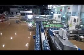 Dua Pabrik Aqua Terendam, Satu Telah Beroperasi Kembali