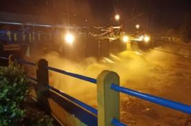 Muka Air Katulampa Naik, 13 Kelurahan di Kota Bogor…