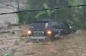 Banjir Sukabumi : 12 Rumah & 2 Orang Hanyut, 85 Hunian…