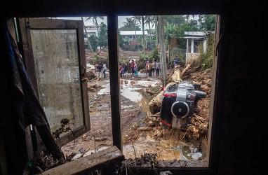 Foto-Foto Kondisi Terkini Lokasi Banjir Bandang di Sukabumi