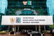 Anggaran Kementerian BUMN Tahun Depan Turun 29 Persen