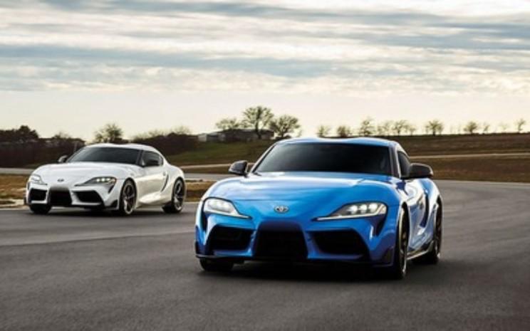 Toyota Supra GR. Khusus untuk varian Special Edition, GR Supra dilengkapi beberapa ubahan yang menguatkan tampilan sports car.   - Toyota