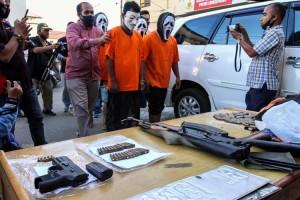 Polres Lhokseumawe Aceh Ringkus Penculik Jaringan Kelompok Kriminal Bersenjata