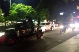 Kabar Konvoi Massa, Personel Gabungan Patroli Keliling…