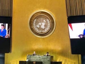 Presiden Joko Widodo Ajak Pemimpin Dunia Bersatu Lawan Covid-19 Saat Pidato Pada Sidang Umum PBB