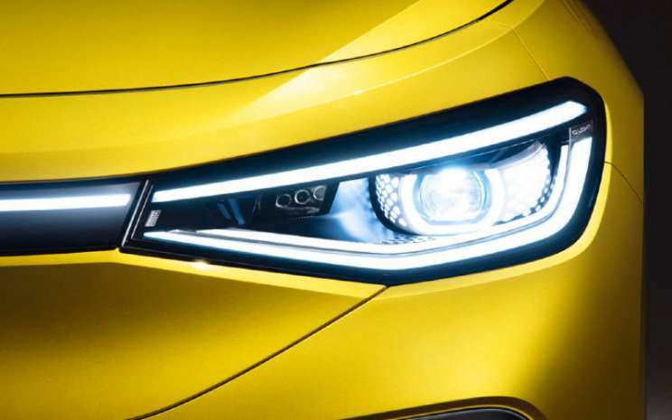 IQ.Light pada Volkswagen ID.4  - Volkswagen