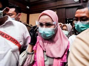 Jaksa Pinangki Sirna Malasari Jalani Sidang Perdana Atas Kasus Pembebasan Djoko Tjandra