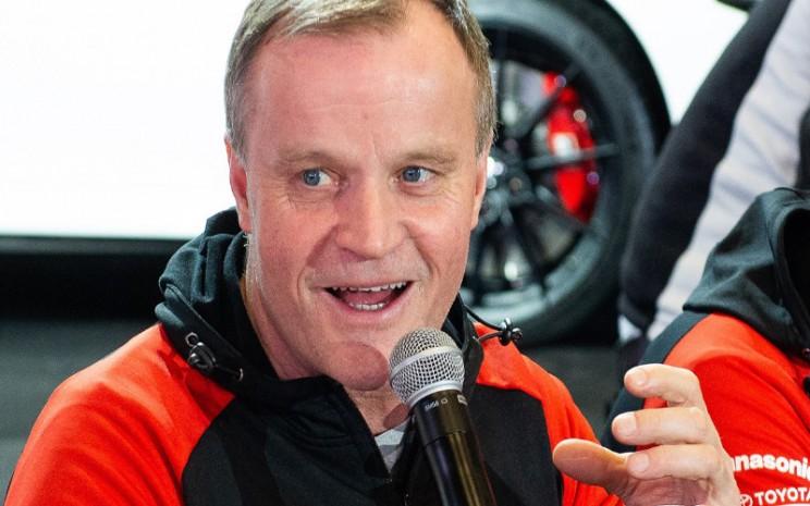 Tommi Makinen, Direktur Pelaksana dan Pemilik Tommi Makinen Racing Oy.  - TMC