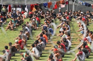 58 Napi Narkoba Dipindah dari Lapas Klas I Tangerang