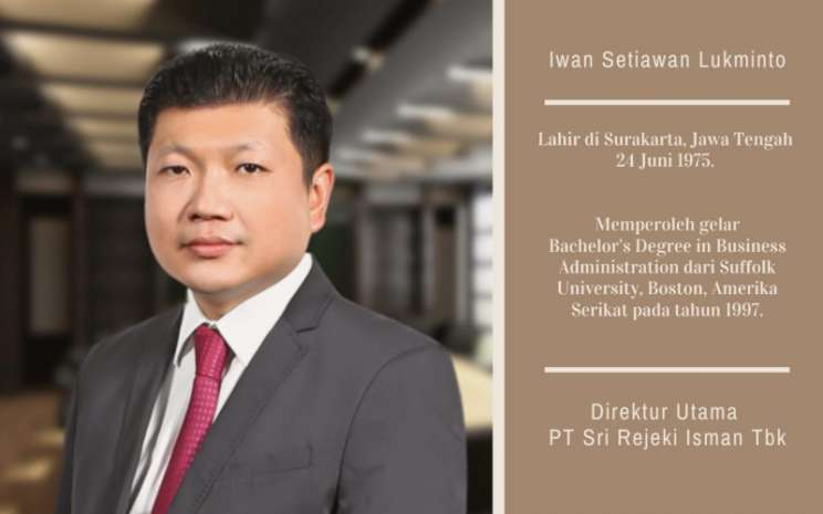 Iwan Setiawan Lukminto, terpilih sebagai Ketua Asosiasi Emiten Indonesia. Istimewa