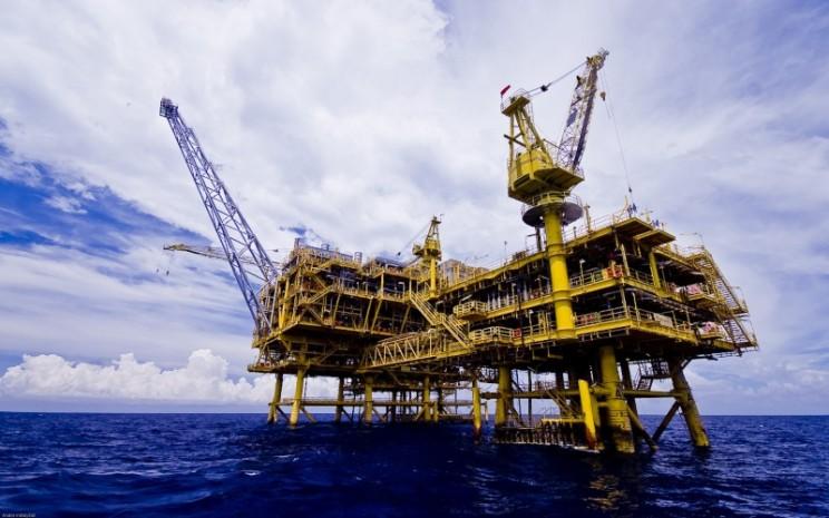 Penampakan proyek pengembangan Lapangan gas Buntal/5 oleh Medco E&P Natuna Ltd. Istimewa / Dok. SKK Migas