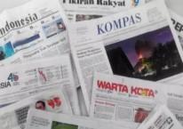 Sejumlah media di Tanah Air/Antara