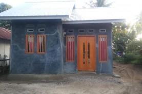 Hunian Hasil Program Bedah Rumah Diberi Tanda Khusus