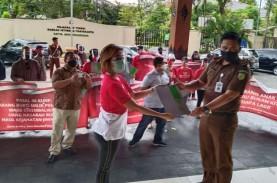 Aksi Damai di 5 Kota, Pemegang Polis WanaArtha Tuntut…