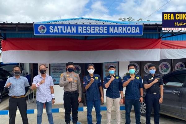 Sinergi Bea Cukai dan Kepolisian Gagalkan Peredaran Narkotika ke Wilayah Sorong