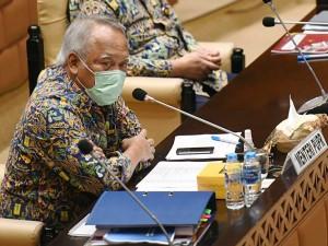 Menteri PUPR Basuki Hadimuljono Raker Dengan Komisi V DPR Bahas Penyesuaian Anggaran