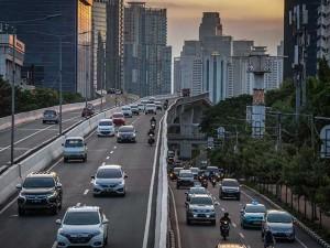 Volume Kendaraan Yang Masuk Ke Ibu Kota Turun 19 Persen Saat Penerapan PSBB Total