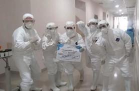 Tempat Tidur ICU untuk Pasien Covid-19 di RSUD Cengkareng…