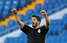Resmi, Luis Suarez Berseragam Atletico Madrid